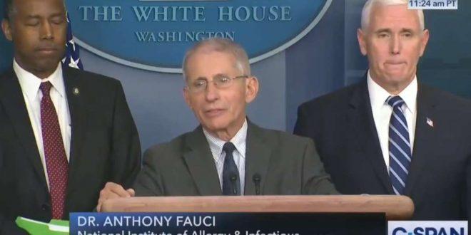 El Covid-19 golpea Nueva York: Anthony Fauci predice que habrá entre 100 mil a 200 mil muertes en los Estados Unidos