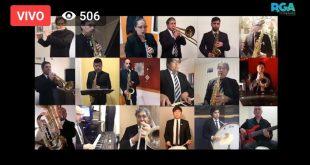 Gran acompañamiento en la Peña virtual del 25 de Mayo