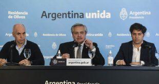 """Alberto Fernández a los argentinos: """"Queda mucho por delante, les pido que no aflojen"""""""