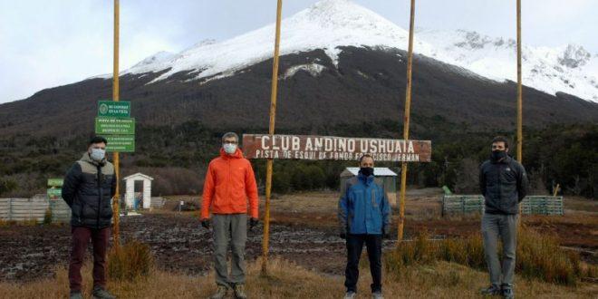 """""""Convenio de Desarrollo Deportivo Regional"""", importante rúbrica entre Gobierno y el Club Andino Ushuaia"""
