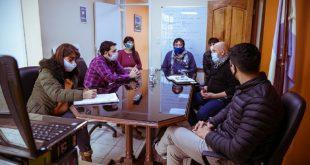 Barrio 120 Viviendas ATE: se reunieron Gobierno y Gremio estatal para evaluar las obras en dicho Barrio