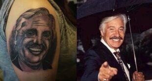 Insólito: se tatuó a Alberto Fernández pero muchos lo confundieron con Roberto Galán