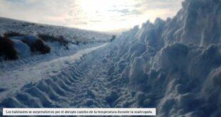 El día más frío en décadas: la temperatura en Río Negro fue de 25 grados bajo cero