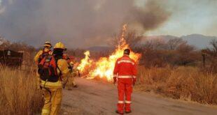 Incendios en Córdoba: dos hombres murieron combatiendo voluntariamente las llamas