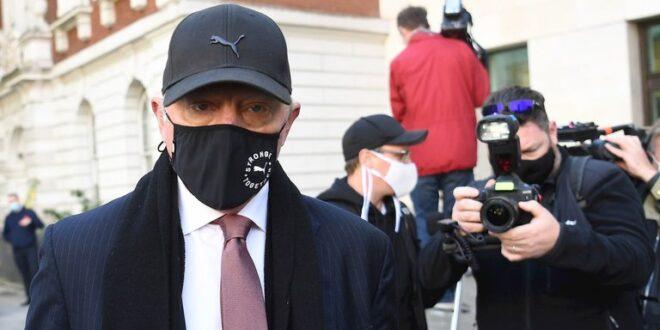 Boris Becker podría recibir una condena de 7 años de prisión en el Reino Unido