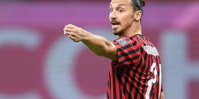 El Milan informó que Zlatan Ibrahimovic tiene coronavirus