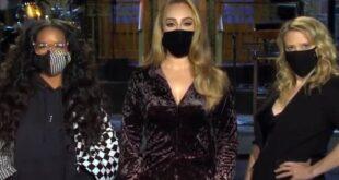 Adele y su debut en Saturday Night Live: con nueva figura y un acento casi americano