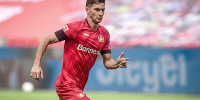 Alario, goleador en la apabullante victoria del Leverkusen