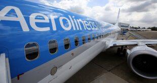 Aerolíneas Argentinas reinicia sus vuelos de cabotaje