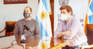 Gustavo Melella confirmó a los Trabajadores de Brighstar la continuidad laboral y la producción local quedó garantizada