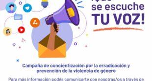 El Ministerio de Educación realiza Campaña de Concientización para erradicación y prevención de la violencia de género