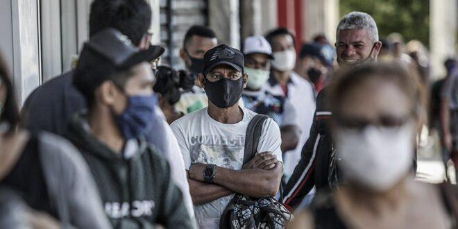 Brasil superó los 170.000 muertos mientras aumenta la tasa de contagios
