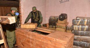 Gendarmería Nacional secuestró más de 3 toneladas de marihuana en Misiones