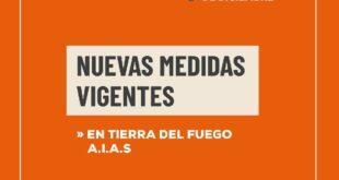Tierra del Fuego: Desde el 01 de Diciembre rigen nuevas disposiciones autorizadas por el Ministerio de Salud