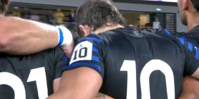 Ahora sí: Los Pumas homenajearon a Maradona