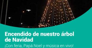 En Tolhuin se realizará el tradicional encendido del árbol de Navidad