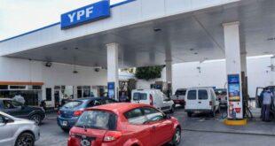 Nueva suba en los combustibles: YPF aumentó otro 3,5%