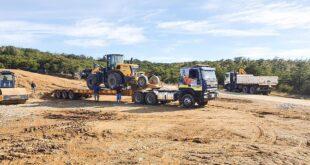 Camino a San Pablo: solicitan transitar con precaución por máquinas viales trabajando
