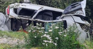 Siniestro vial fatal: 3 personas murieron y uno se encuentra en estado grave